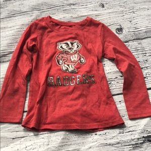*6 for $30* Bucky Badger Madison Tee 3T
